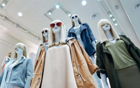 Examples of fast fashion clothing inside from the popular store Forever 21.