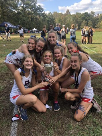 Varsity cross country team to make state