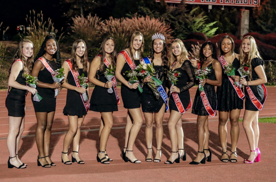 Senior, Haley Agin, becomes Mount Pisgah's 2020 Homecoming Queen